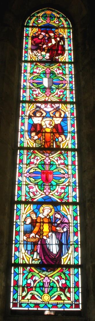 vitrail de Saint Etienne